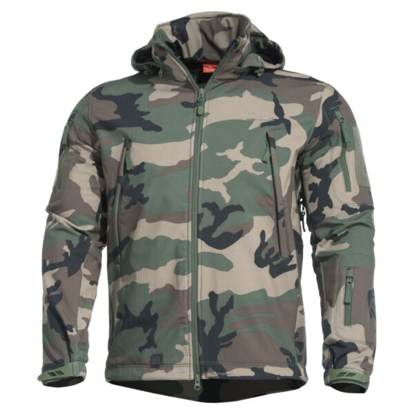 Pentagon Artaxes Softshell Jacket-WOODLAND