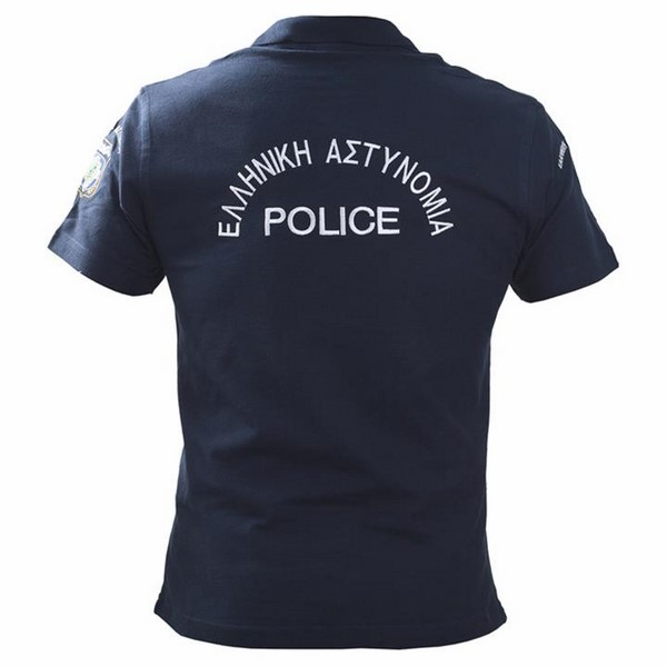 T-SHIRT POLO ΑΣΤΥΝΟΜΙΑΣ ΜΠΛΕ