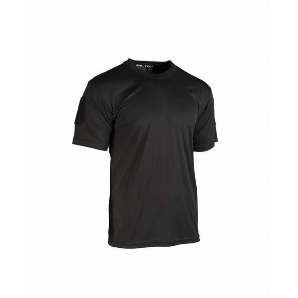 Μπλουζάκι T-Shirt Αντιιδρωτικό Mil-Tec μαύρο