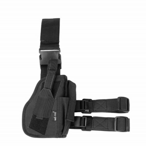 BLACK LOW RIDE HOLSTER RIGHT