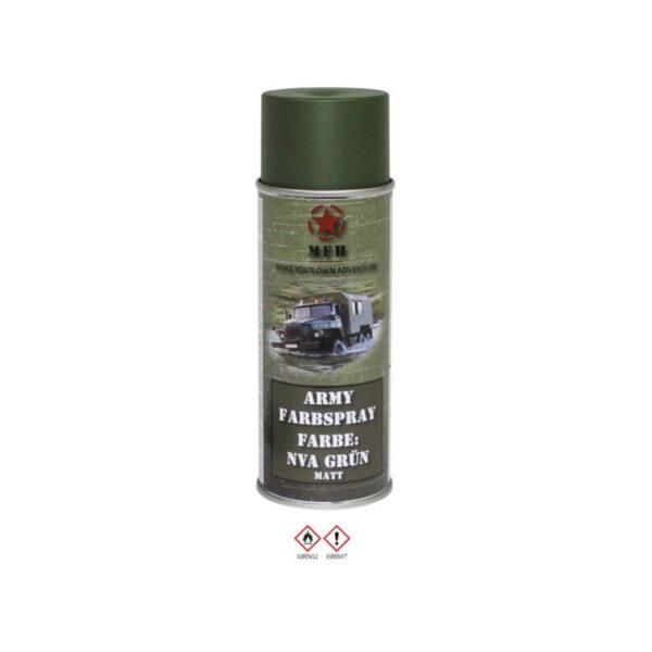 ΒΕΡΝΙΚΙ ARMY SPRAY MAT 400 ML MFH