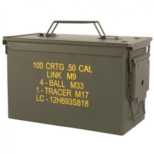 ΚΟΥΤΙ ΠΥΡΟΜΑΧΙΚΩΝ US M2A1 CAL. 50 AMMO BOX STEEL