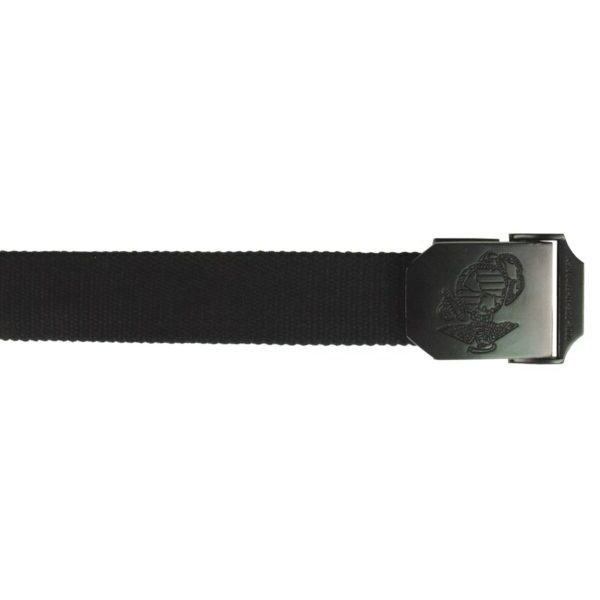 USMC WEB BELT, 35 MM, BLACK