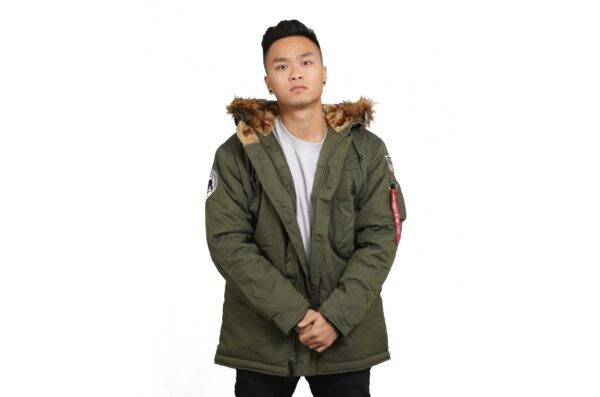ΜΠΟΥΦΑΝ ALPHA INDUSTRIES EXPLORER VINTAGE GREEN